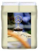 1927 Mercedes-benz S Hood Ornament Duvet Cover