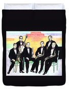 1927 New Yorkers Jazz Band Duvet Cover