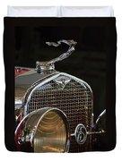 1929 Lasalle Hood Ornament Duvet Cover
