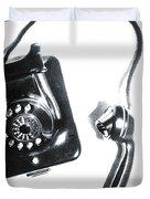 1930s Telephone Duvet Cover