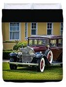 1931 Cadillac V12 Duvet Cover