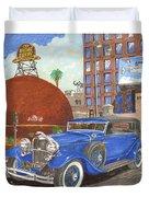1931 Lincoln K Dietrich Phaeton Duvet Cover