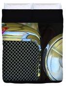 1932 Alvis-6 Speed 20 Sa Grille Emblem Duvet Cover