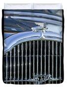 1932 Buick Series 60 Phaeton Grille Duvet Cover