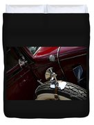 1932 Chevrolet Detail Duvet Cover