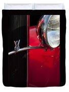 1932 Ford Roadster Grille Duvet Cover