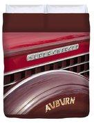 1935 Auburn Emblem Duvet Cover