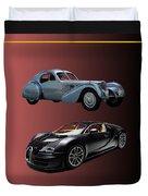 1936 Bugatti 2010 Bugatti Duvet Cover