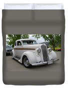 1936 Plymouth Duvet Cover