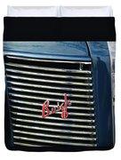 1937 Buick Grille Emblem Duvet Cover