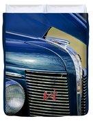 1937 Buick Hood Ornament Duvet Cover