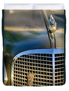 1937 Cadillac Hood Ornament And Grille Duvet Cover