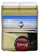 1937 Hudson Terraplane Pickup Truck Taillight Duvet Cover