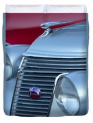 1937 Studebaker Grille Duvet Cover