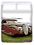 1938 Delahaye Cabriolet Duvet Cover