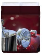 1938 Mg Ta Hood Ornament Duvet Cover