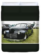 1940 Chevy Convertable Duvet Cover