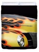 1940 Flames Duvet Cover