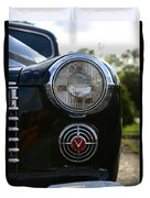 1941 Cadillac Headlight Duvet Cover
