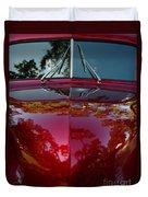 1941 Ford Truck Nose Duvet Cover