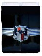 1942 Chevrolet Emblem Duvet Cover