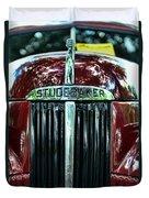 1947 Studebaker Grill Duvet Cover