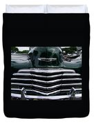 1948 Chevy Coupe Grille Duvet Cover