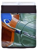 1948 Chrysler Town And Country Convertible Coupe Duvet Cover