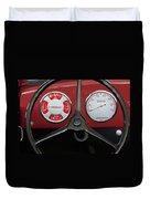 1948 Crosley Dashboard Duvet Cover