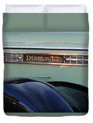 1948 Diamond T Truck Emblem 2 Duvet Cover