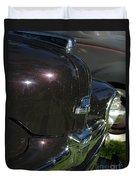 1948 Ford Super Deluxe Hood Emblem Duvet Cover