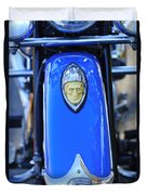 1948 Indian Chief Motorcycle Fender Duvet Cover