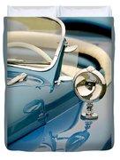1948 Lloyd Templeton Mercury Saturn Bob Hope Roadster Duvet Cover