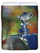 1948 Rolls-royce Hood Ornament Duvet Cover