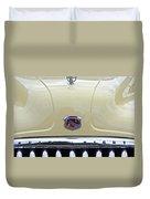 1949 Buick Super 8 Grill  Duvet Cover