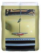 1950 Chevrolet Fleetline Grille 2 Duvet Cover