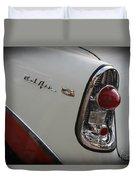 1950s Chevrolet Belair Chevy Antique Vintage Car 2 Duvet Cover