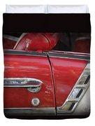 1950s Chevrolet Belair Chevy Antique Vintage Car 3 Duvet Cover