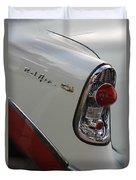1950s Chevrolet Belair Chevy Antique Vintage Car Duvet Cover