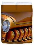 1951 Mercury Grille Duvet Cover