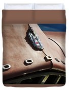 1952 Dodge Hood Emblem Duvet Cover