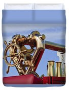 1952 L Model Mack Pumper Fire Truck Duvet Cover