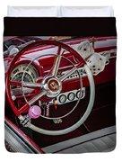 1953 Ford Crestline Victoria Duvet Cover