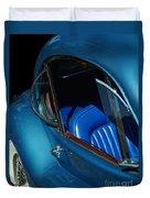 1953 Jaguar 120m Wind Wings Duvet Cover