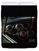 1953 Mercury Monterey Dash Duvet Cover
