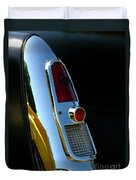 1953 Mercury Monterey Taillight Duvet Cover