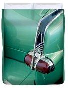 1953 Packard Caribbean Convertible Taillight Duvet Cover