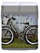 1953 Schwinn Bicycle Duvet Cover