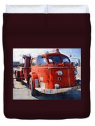 1954 American Lafrance Classic Fire Engine Truck Duvet Cover