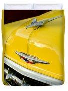 1954 Chevrolet Hood Ornament 4 Duvet Cover